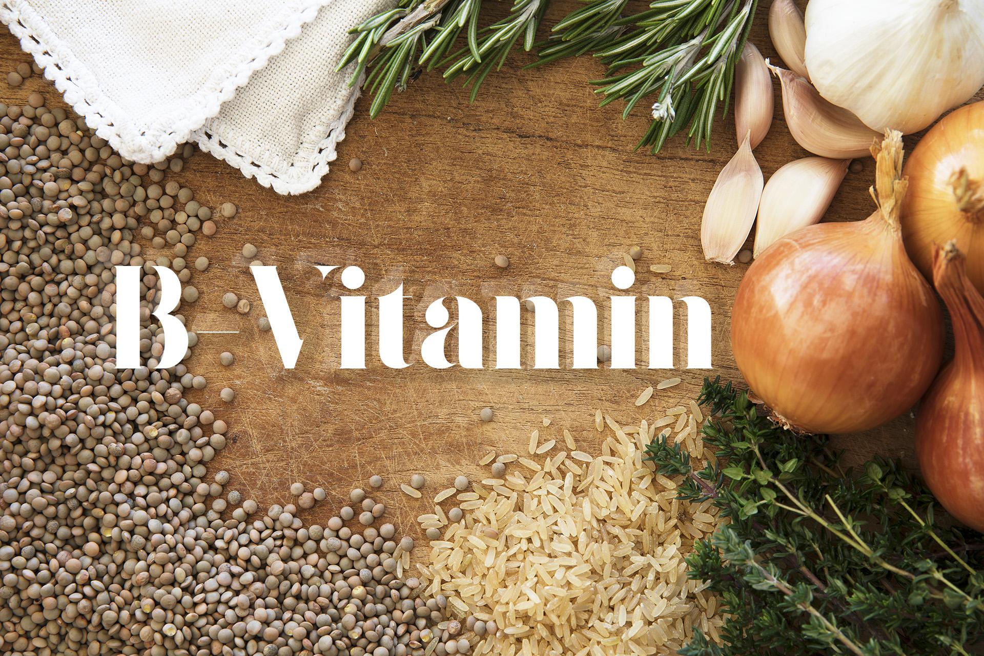 B Vitamin logotyp